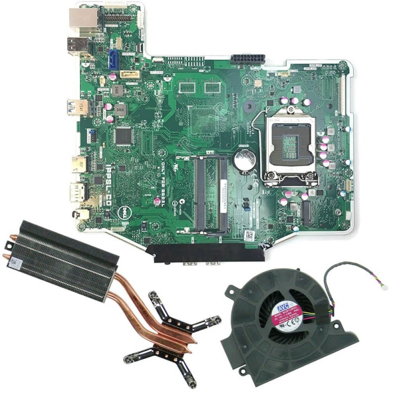 Placi de baza second hand AIO Dell OptiPlex 3240 + Radiator, Cooler