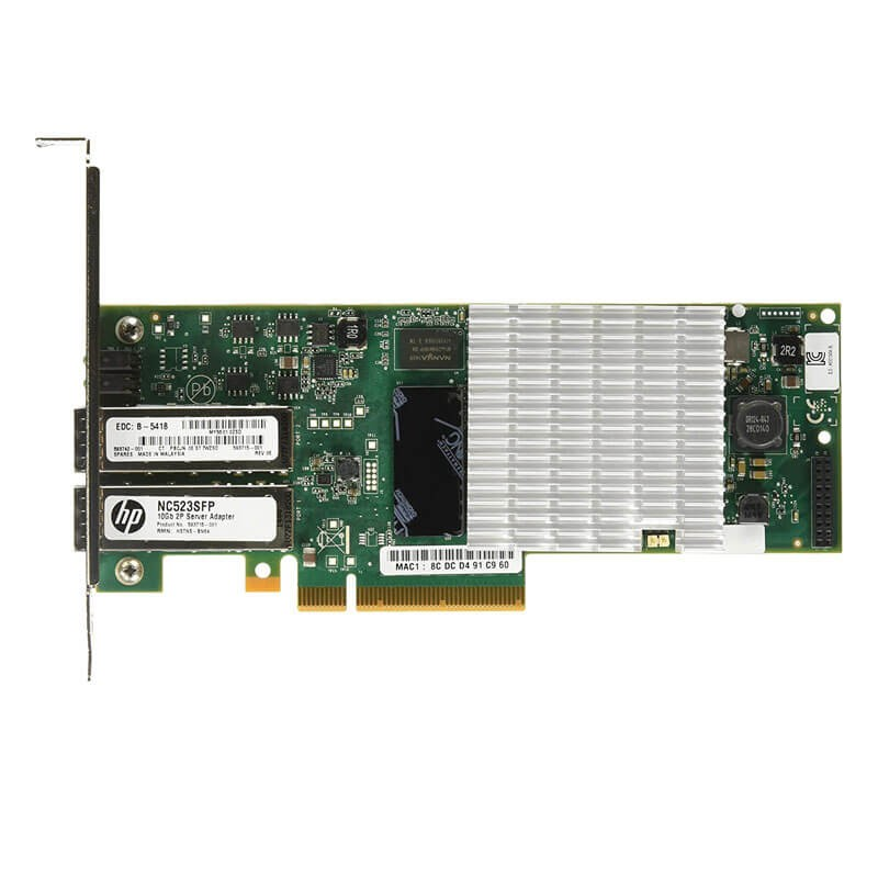 Placi de Retea Refurbished HP QLE3242 Fibre Channel Dual Port 10Gbps