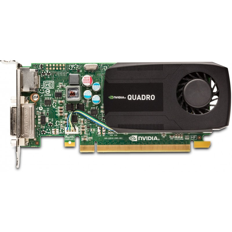Placi video refurbished low profile NVIDIA Quadro K600 1GB DDR3 128-bit