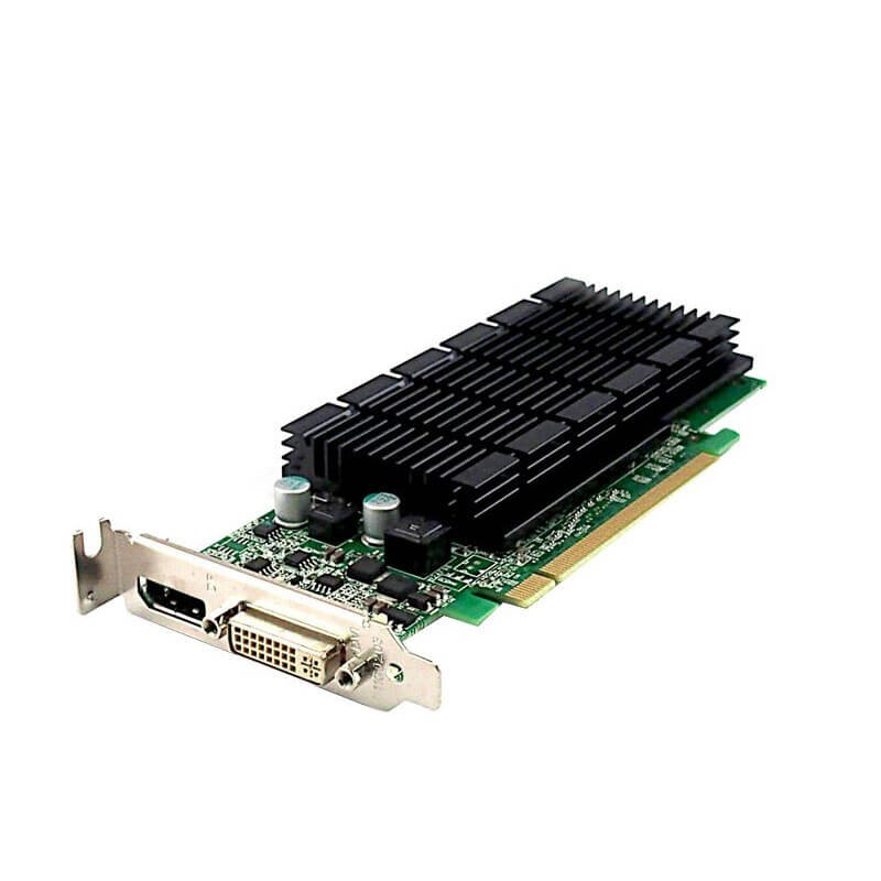 Placi video Refurbished NVIDIA GeForce 605 DP 1GB GDDR3 64-bit, Low Profile
