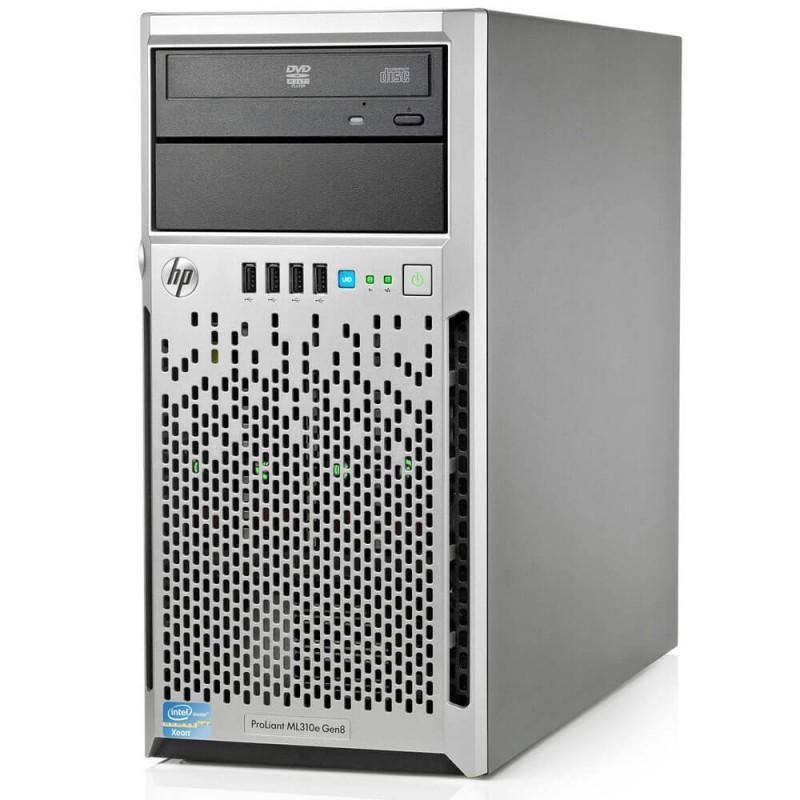 Servere Refurbished HP Proliant ML310e Gen8, Xeon E3-1220 v2 - configureaza pentru comanda