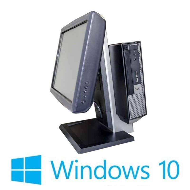 Sisteme POS Refurbished Dell Optiplex 7010 USFF, i3-3220, Elo 1515L, Win 10 Home
