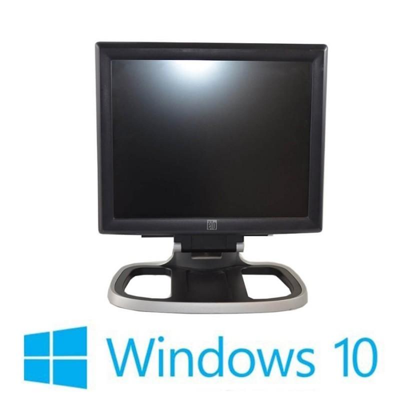 Sisteme POS Refurbished HP Compaq 8200 Elite USFF, i3-2100, Elo 1715L, Win 10 Home