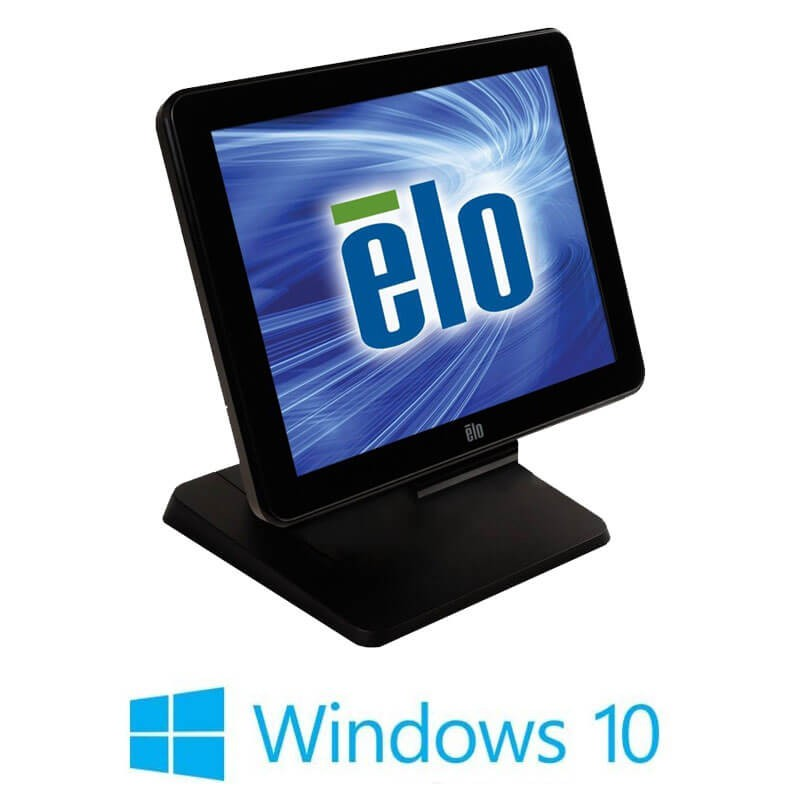 Sisteme POS Touchscreen Refurbished ELO Touch 17B3, Core i3-3220, Win 10 Home