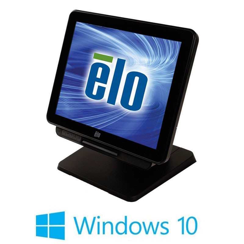 Sisteme POS Touchscreen Refurbished ELO Touch 17X3, Intel i3-4350T, Win 10 Home