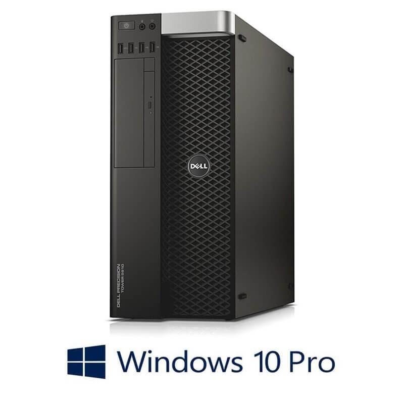 Statie grafica Dell Precision 5810 MT, Xeon E5-1620 v3, SSD, Quadro M4000, Win 10 Pro