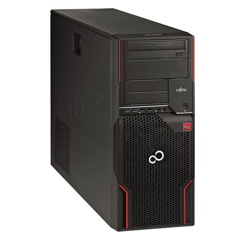 Statie grafica Open Box Fujitsu CELSIUS W520, E3-1225 v2, 1TB SSD, Quadro K2000 2GB
