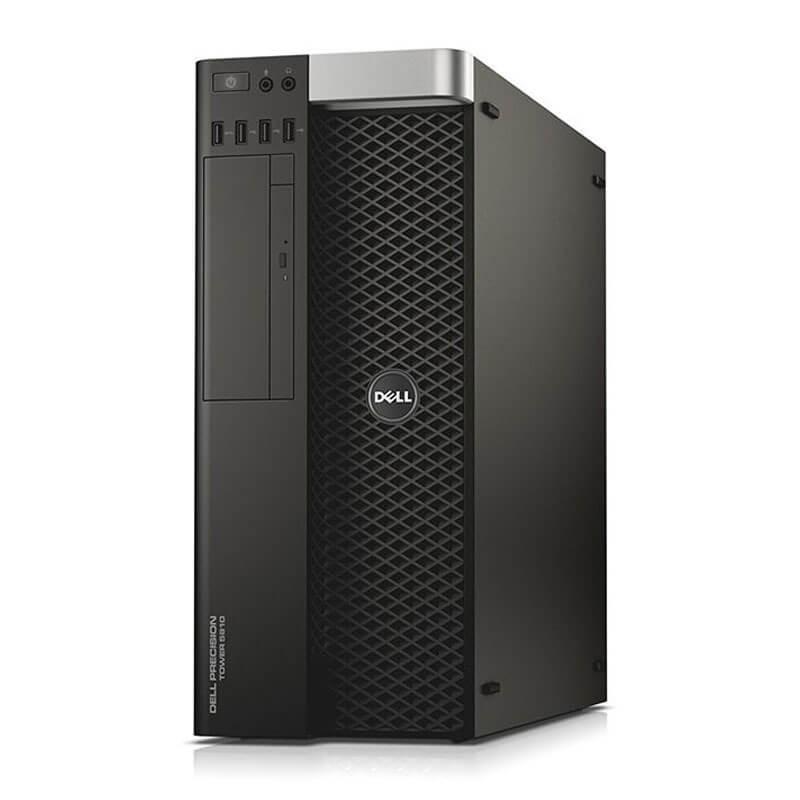 Statie grafica second hand Dell Precision 5810 MT, Xeon E5-1620 v3, SSD, Quadro M4000 8GB