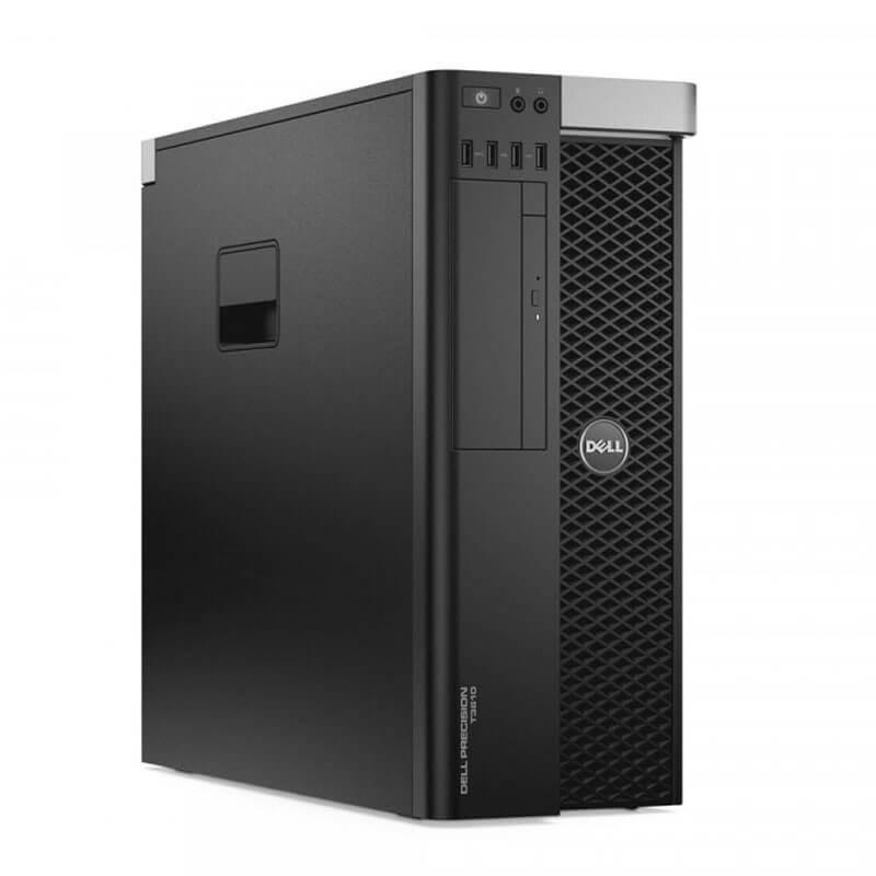 Statie grafica second hand Dell Precision T3600, Hexa Core E5-2620, NVidia Quadro 2000