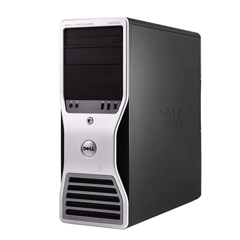 Statie grafica second hand Dell Precision T5500, Xeon Hexa Core X5650