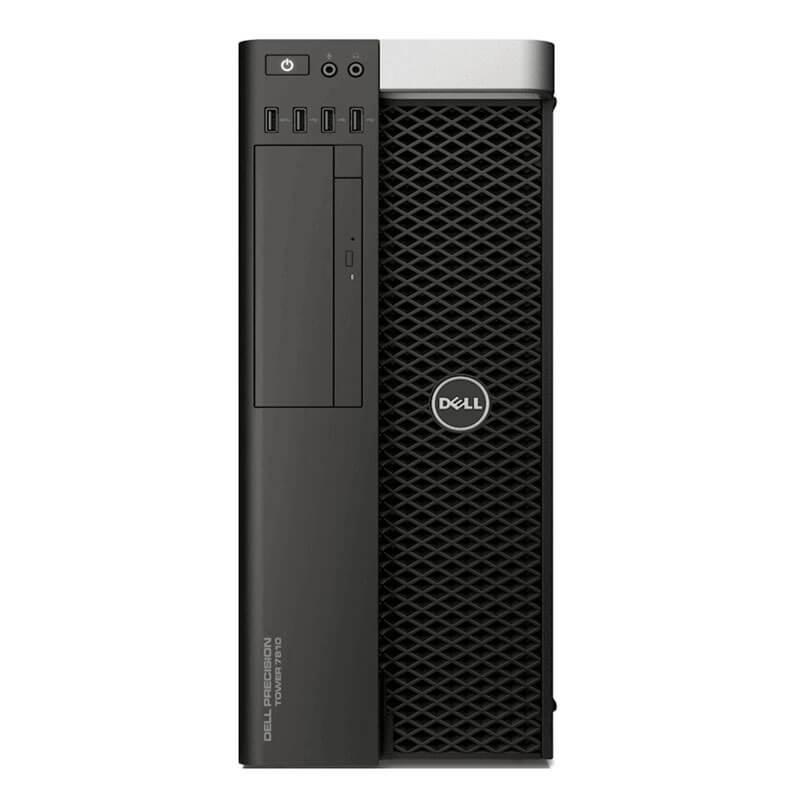Statie grafica second hand Dell Precision Tower 7810, 2 x E5-2623 v3 – configureaza pentru comanda