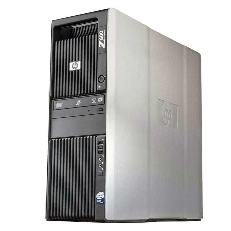 Statie grafica second hand HP Z600, Intel Xeon Quad Core E5520, 12Gb DDR3
