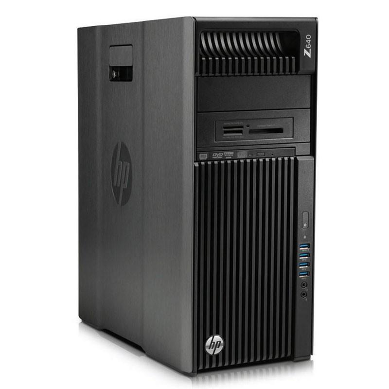 Statie grafica second hand HP Z640, Hexa Core E5-2620 v3, 16GB DDR4, Quadro K420 2GB 128-bit