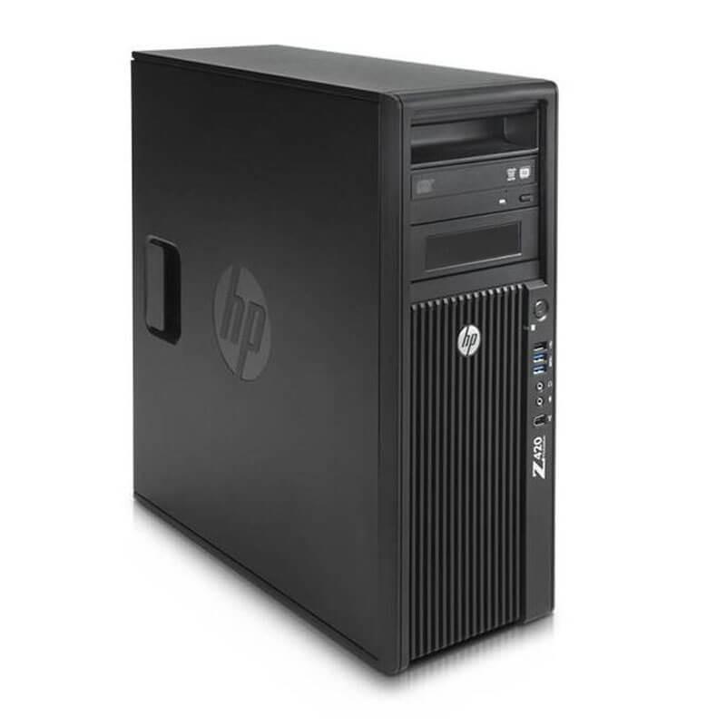 Statie grafica SH HP Z420, Xeon Octa Core E5-2670, NVidia Quadro 2000