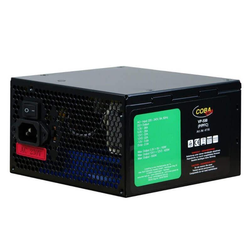 Surse Alimentare Calculatoare Refurbished Inter-Tech CobaKing VP-550, 550W