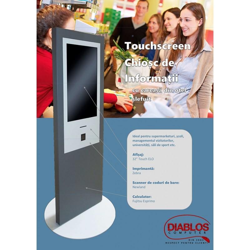 Terminal Refurbished InfoChiosc Elo TouchScreen 3243L, Quad Core I5-3470