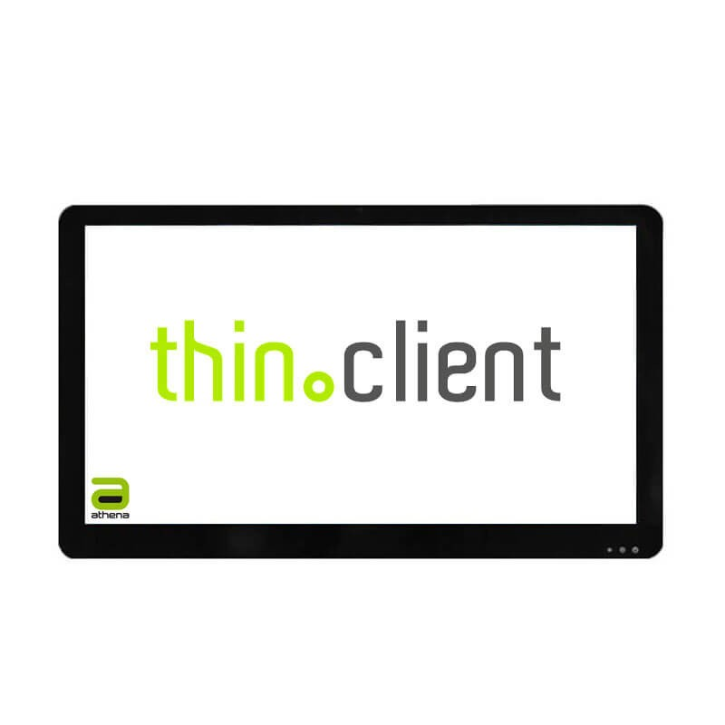 Thin Client Athena A228, Atom N2800, 22 inch Touchscreen Full HD, Webcam, Wi-Fi